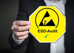 ESD-Audit / Zertifizierung der Schutzbereiche